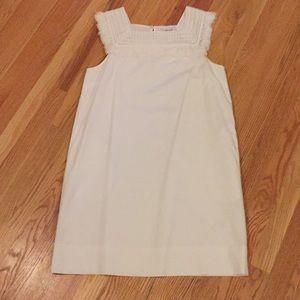 Madewell white lace dress NWT
